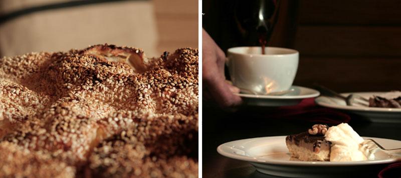 Mittagessen und Kaffeeklatsch
